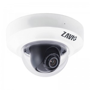 Цифровая видеокамера ZAVIO < D3100> 720p Megapixel PoE Mini Dome IP Camera (LAN, 1280x800, f=4mm, microSD, mic)