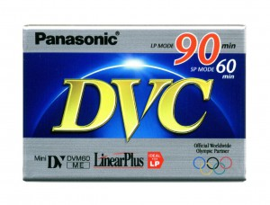 Кассета Digital Video Cassette miniDV Panasonic <AY-DVM60> LinearPlus SP 60min|LP 90min