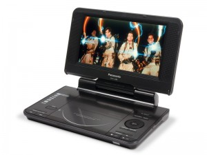 Проигрыватель Panasonic <DVD-LS84 Black> Portable DVD|CD|MPEG4|MPЗ|WMA|JPEG Player (LCD 8.0,TV out)